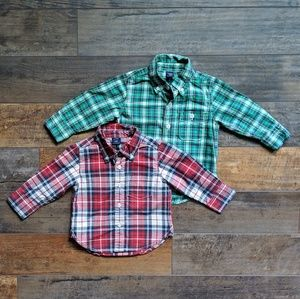 BabyGap baby boy shirts